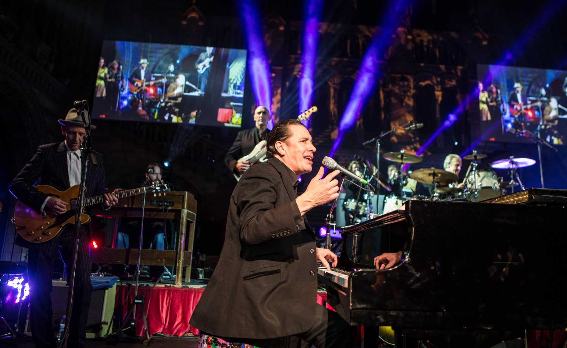Jools Holland at Natural History Museum