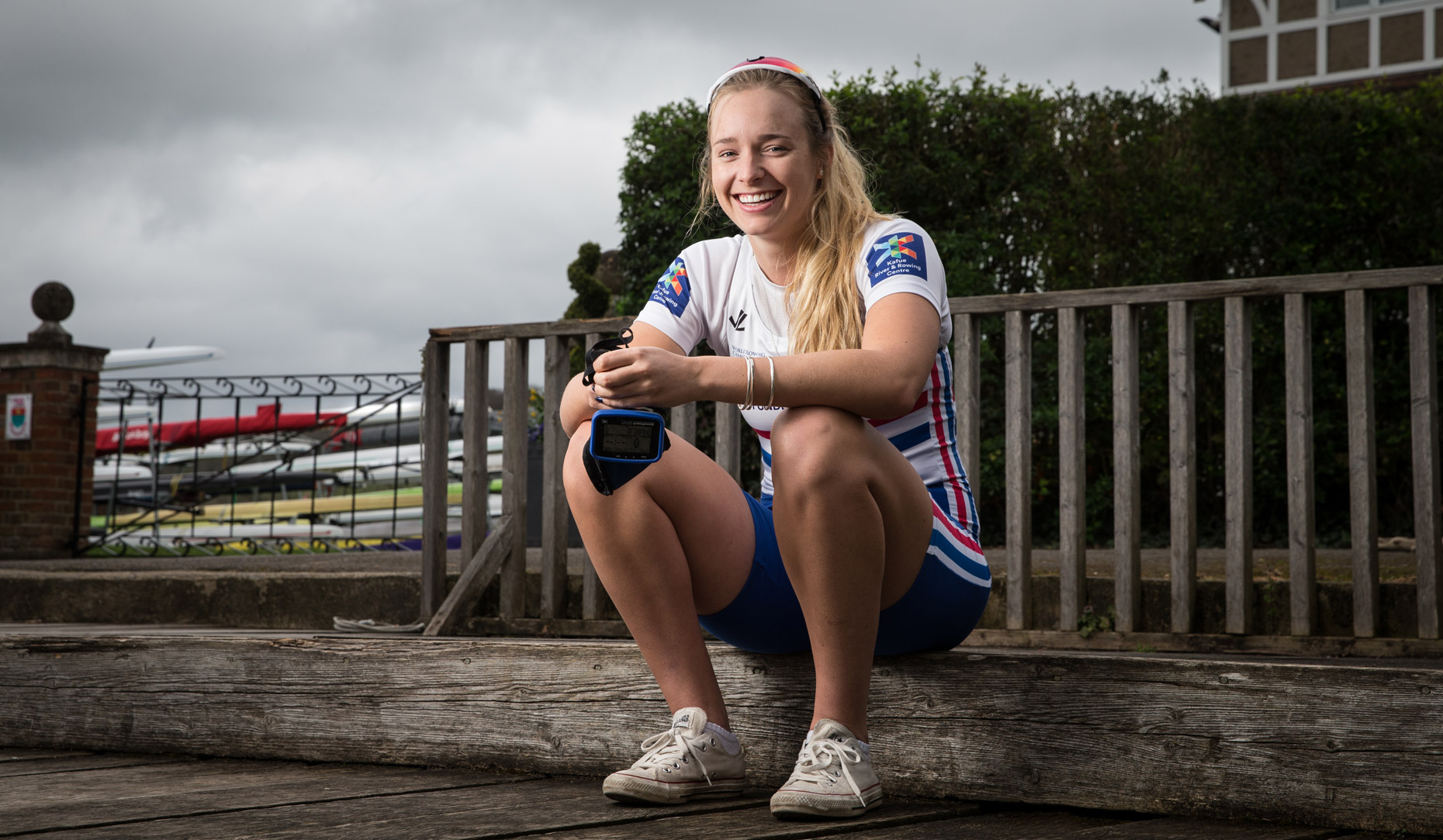 Holly Norton of British Rowing