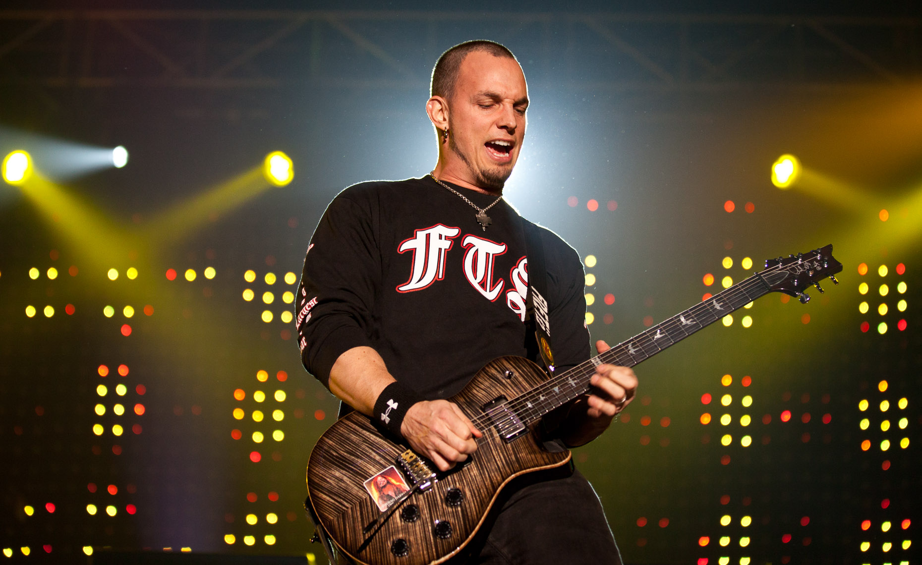 Mark Tremonti of Alter Bridge in London